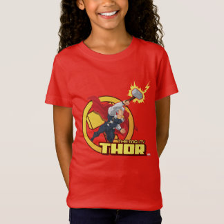 The Mighty Thor Character Graphic T-Shirt