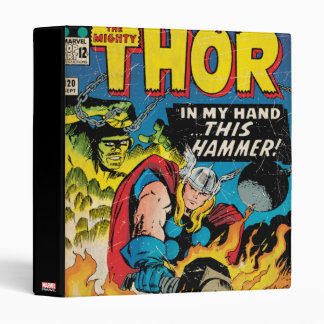 The Mighty Thor Comic #120 3 Ring Binders