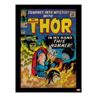 The Mighty Thor Comic #120 Poster