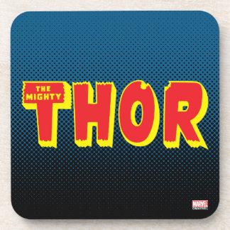 The Mighty Thor Logo Coaster