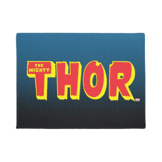 The Mighty Thor Logo Doormat