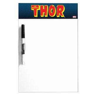 The Mighty Thor Logo Dry Erase Whiteboards