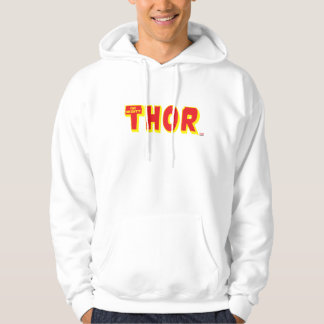 The Mighty Thor Logo Hoodie