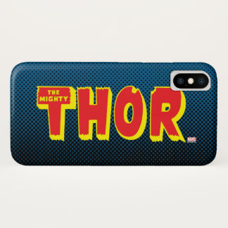 The Mighty Thor Logo iPhone X Case