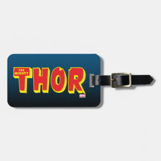 The Mighty Thor Logo Luggage Tag