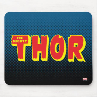The Mighty Thor Logo Mouse Pad