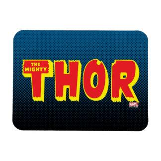 The Mighty Thor Logo Rectangular Photo Magnet