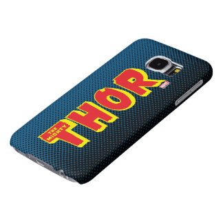 The Mighty Thor Logo Samsung Galaxy S6 Cases