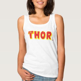The Mighty Thor Logo Tank Top