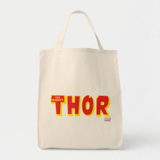 The Mighty Thor Logo Tote Bag