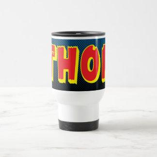 The Mighty Thor Logo Travel Mug
