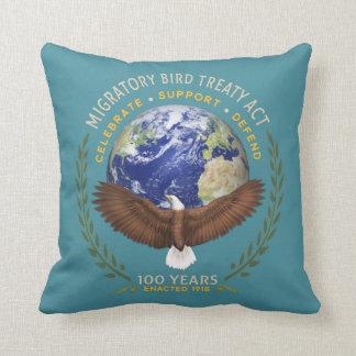 The Migratory Bird Treaty Act - 100 Years Old Throw Pillow