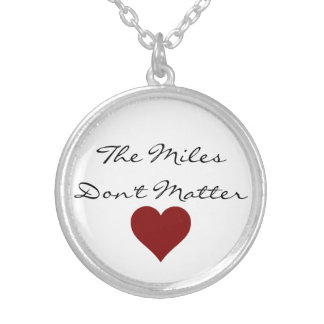 The Miles Don't Matter Necklace