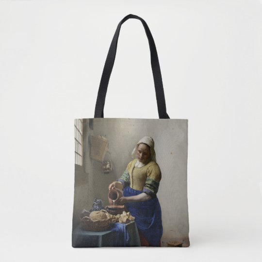 The Milk Maid At Work Tote Bag
