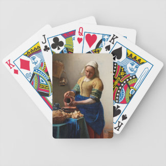THE MILKMAID BICYCLE PLAYING CARDS