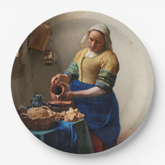 THE MILKMAID PAPER PLATE