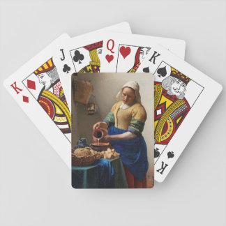 THE MILKMAID PLAYING CARDS