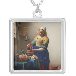 THE MILKMAID SILVER PLATED NECKLACE