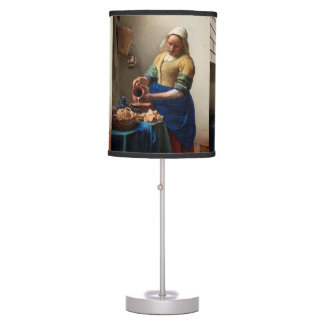 THE MILKMAID TABLE LAMP