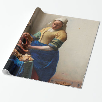 THE MILKMAID WRAPPING PAPER
