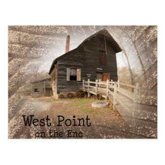 The Mill at West Point on the Eno Postcard