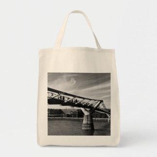The Millenium Bridge Tote Bags