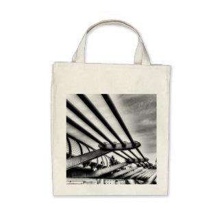 The Millennium Bridge Tote Bags