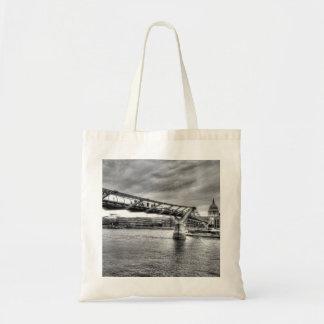 The Millennium Bridge Budget Tote Bag