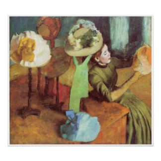 The Millinery Shop c 1879-84 Edgar Degas Posters
