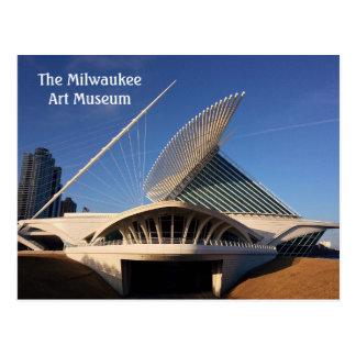 The Milwaukee Art Museum Postcard