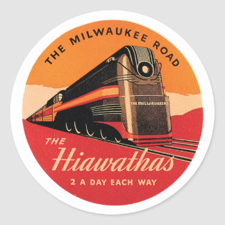 The Milwaukee Road Classic Round Sticker
