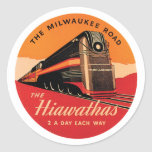 The Milwaukee Road Round Stickers