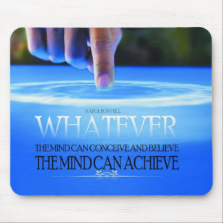 The Mind Can Conceive Mousepad