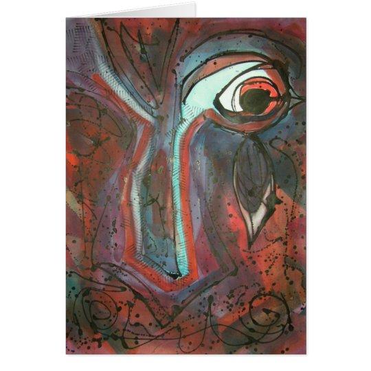 The  Mind's Eye Notecard