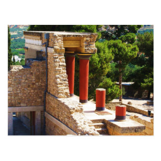 The Minoan Palace of Knossos picture Postcard