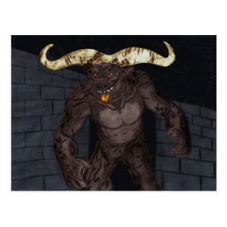 The Minotaur Postcards