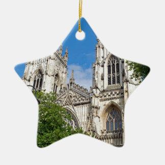 The Minster in York Ceramic Star Ornament