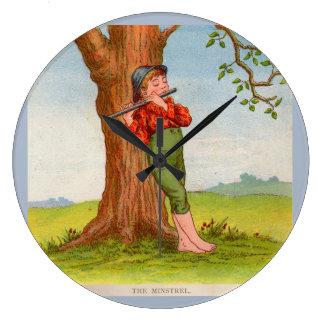 The Minstrel Large Clock