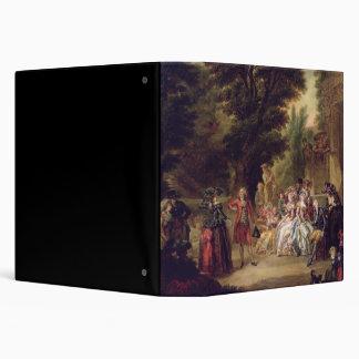 The Minuet under the Oak Tree, 1787 Vinyl Binder