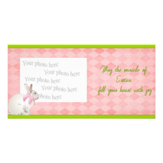 The Miracle of Easter Photo Card Template