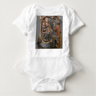 The Miracle of the Palm Tree on the Flight Egypt Baby Bodysuit