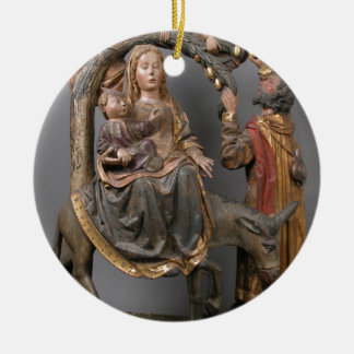The Miracle of the Palm Tree on the Flight Egypt Ceramic Ornament