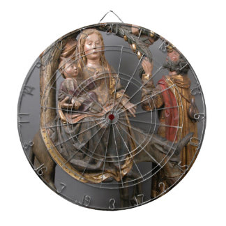 The Miracle of the Palm Tree on the Flight Egypt Dartboard