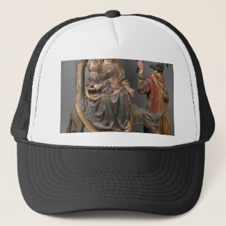 The Miracle of the Palm Tree on the Flight Egypt Trucker Hat