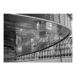 The mirror disk above me photo print
