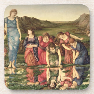 The Mirror of Venus, 1870-76 (oil on canvas) Coaster