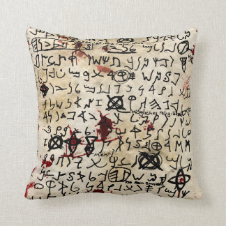 The Missing page Throw Pillow