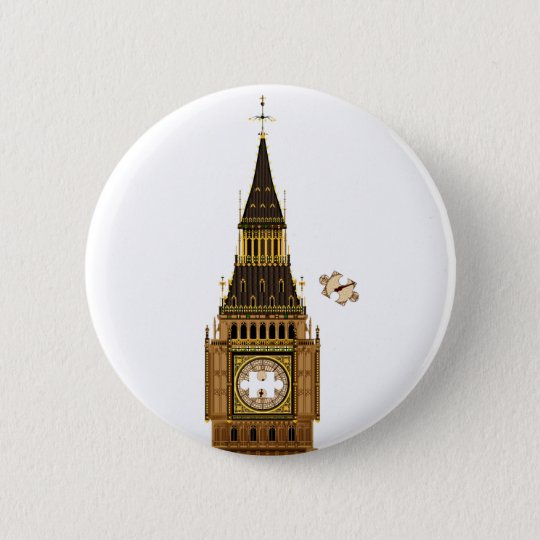The Missing Piece 2 Inch Round Button