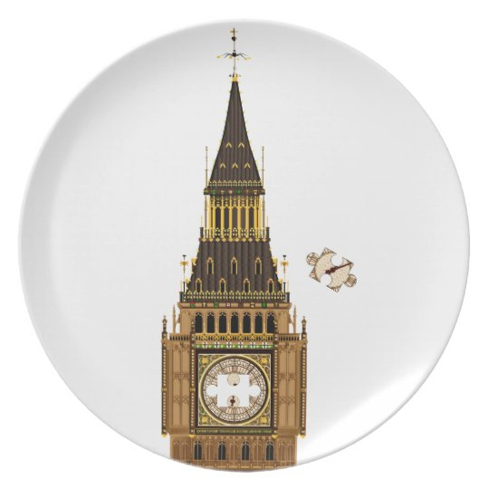 The Missing Piece Dinner Plate