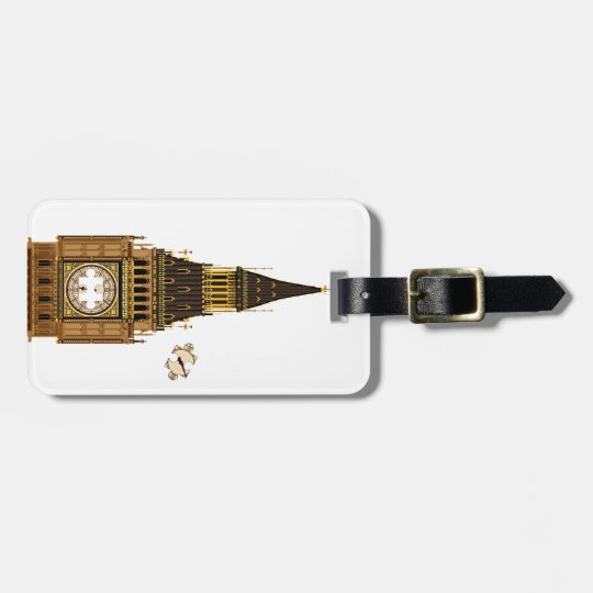 The Missing Piece Luggage Tag